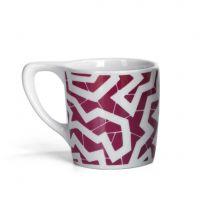 Lino 'Spinne' Coffee Mug, Burgundy - One Dozen
